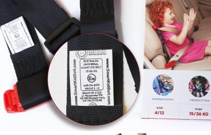 Adapter do pasów bezpieczeństwa Smart Kid Belt - czy warto kupić?